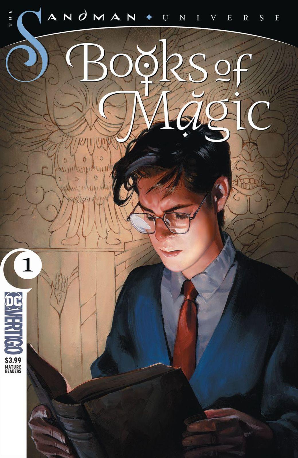 The cover of Books of Magic #1, DC Vertigo (2018).