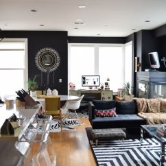 What Color Should You Paint Your Living Room With Brown Furniture 7 Piece Package Best Black Paints For Home Curbed Interior Is Back In