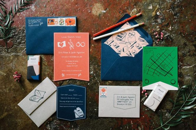 Six New York City Stationers For Actually Cool Wedding