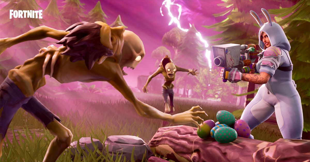 Fortnite Update Adds Guided Missiles Easter Egg Launchers