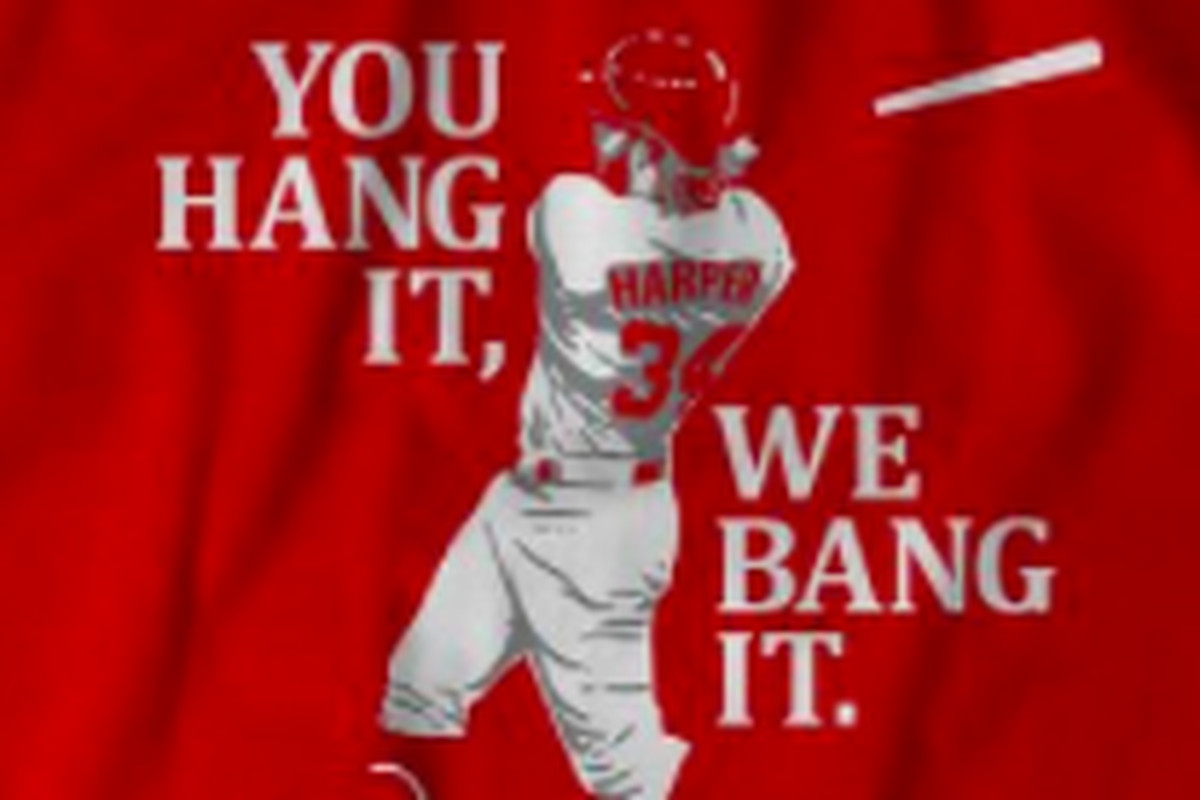 Washington Nationals' Bryce Harper: You Hang It, We Bang