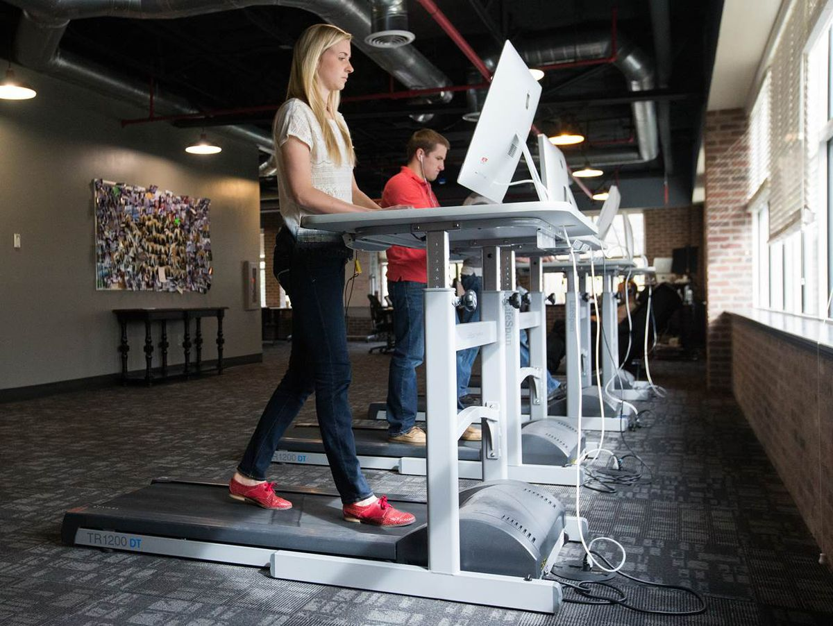 One Month With a Treadmill Desk Beats Sitting Still  Recode