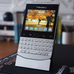 Porsche Design P 9981 Blackberry Review The Verge