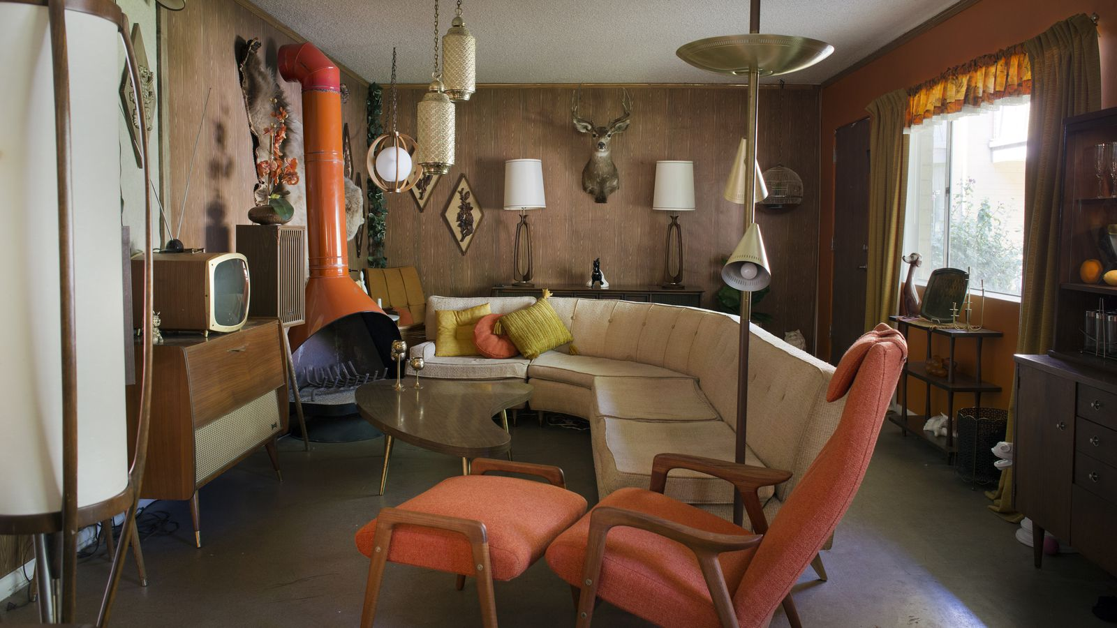 A Millennial in Love With Midcentury Modernism Creates Time Capsule Bachelor Pad  Curbed