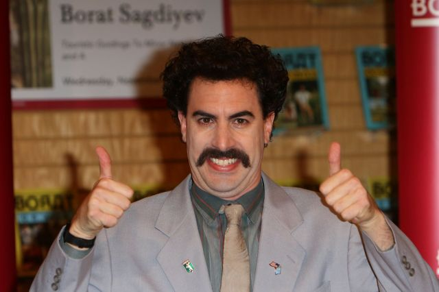Borat Book Signing - Los Angeles