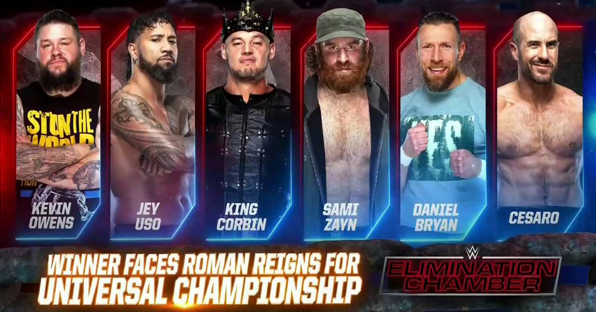 SmackDown's Elimination Chamber go home match doesn't have any stakes