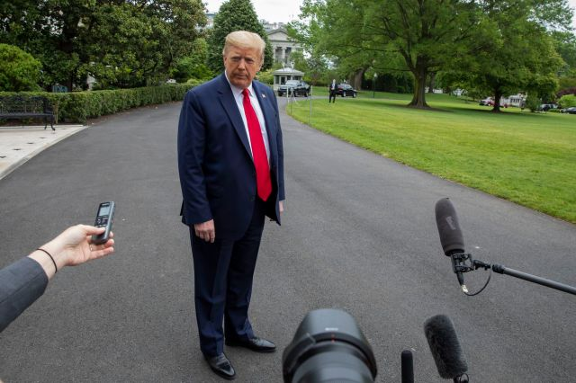 President Trump Returns To White House From Camp David