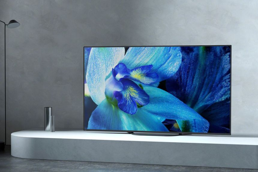 <em>The A8G is one of two OLED ranges that Sony has announced for this year.</em>