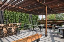 Gold Cash Spruces Patio With Outdoor Bar And Al