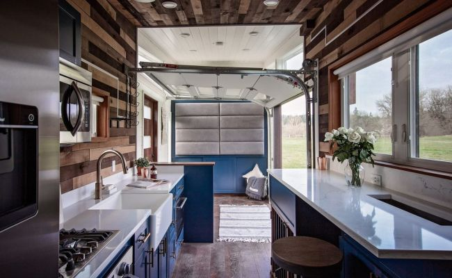 Tiny House Was Designed For Throwing Parties Curbed
