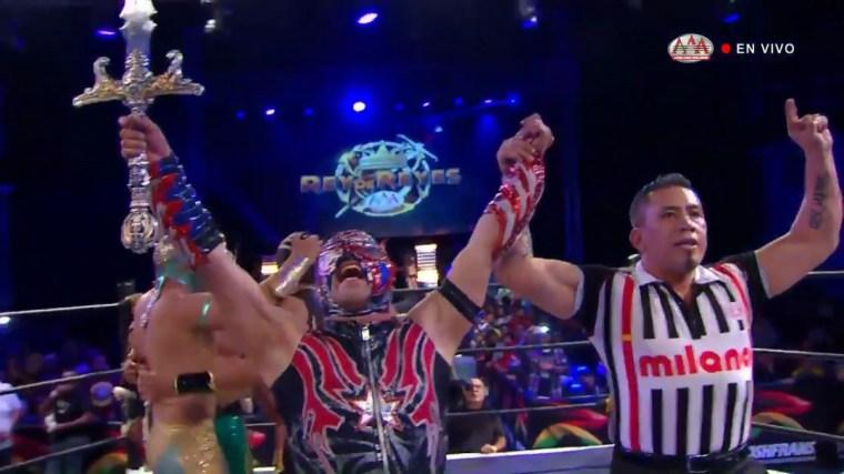 AAA Rey de Reyes preview: Taya & Daga vacate titles, Andrade surprise?