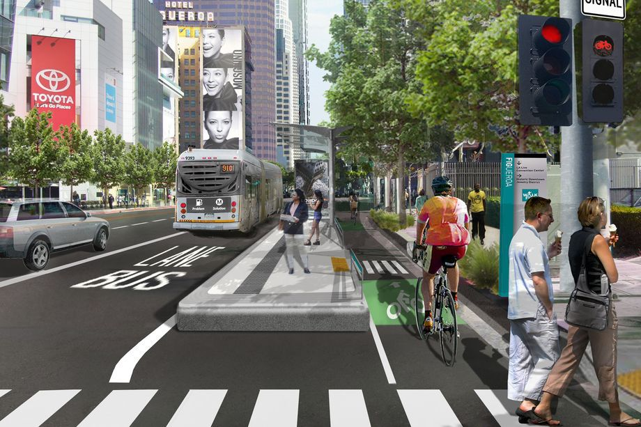 Los Angeles transportation future