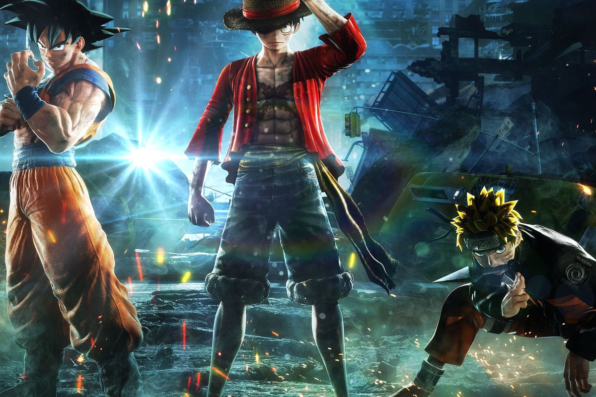 Lifelike 3d Wallpaper Jump Force Is Manga Brought Into The Very Very Real World