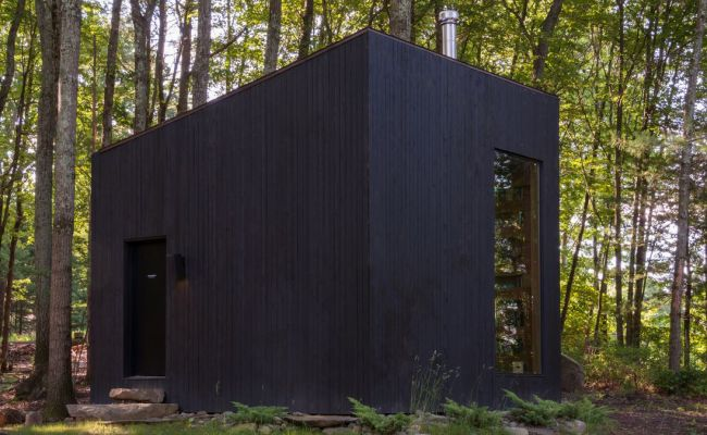 A 320 Square Foot Cabin Offers Refuge In Upstate New York