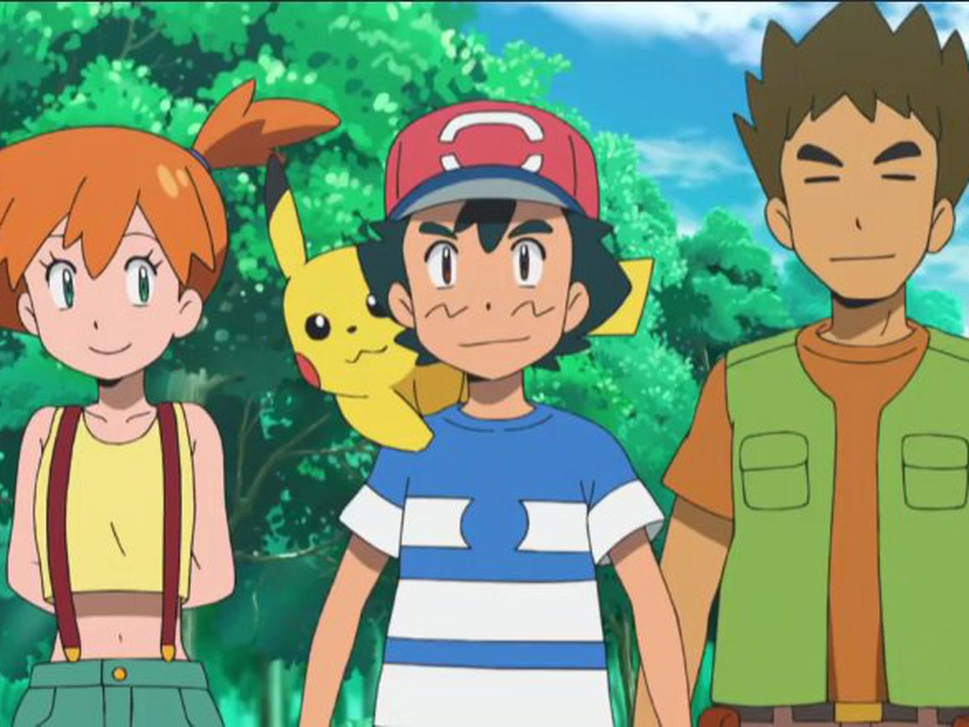 Pokemon Anime S Brock And Misty Reunion Has A Perfect Old School Callback Polygon