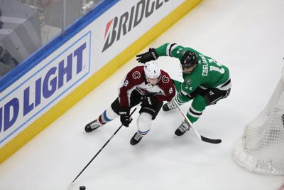 NHL: Stanley Cup Playoffs-Colorado Avalanche at Dallas Stars