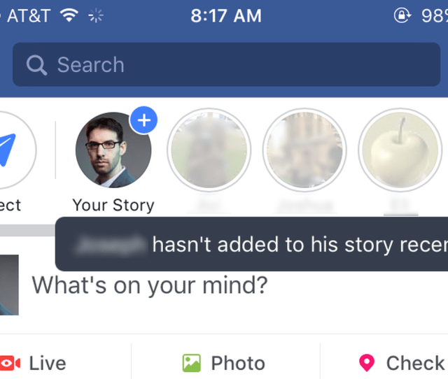 The New Facebook Stories With Ghost Friends Blurred For Privacy