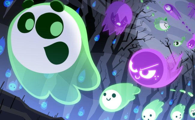 Google S Halloween Doodle Is A Competitive Multiplayer