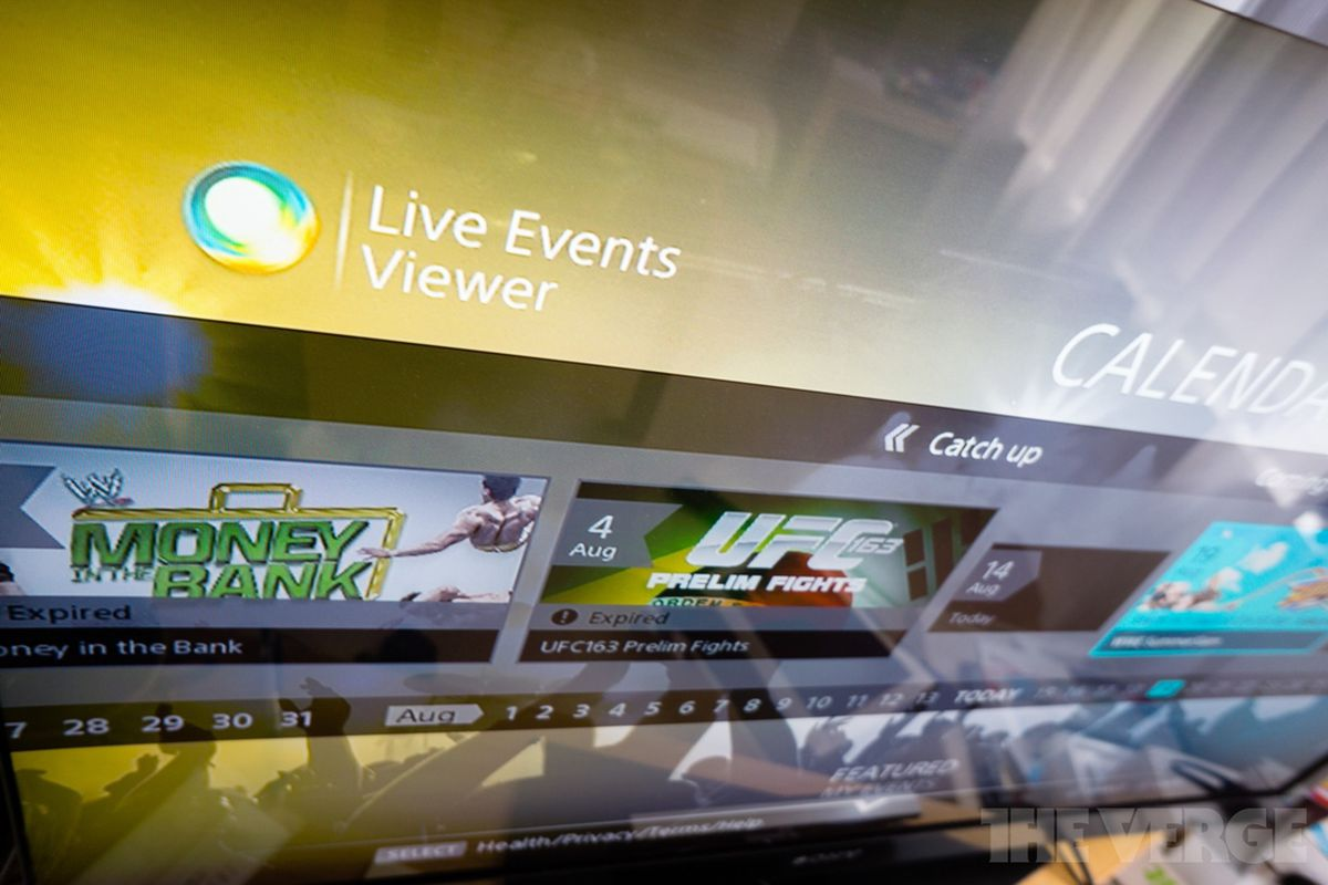 New app brings live pay-per-view events to the PlayStation 3 - The Verge