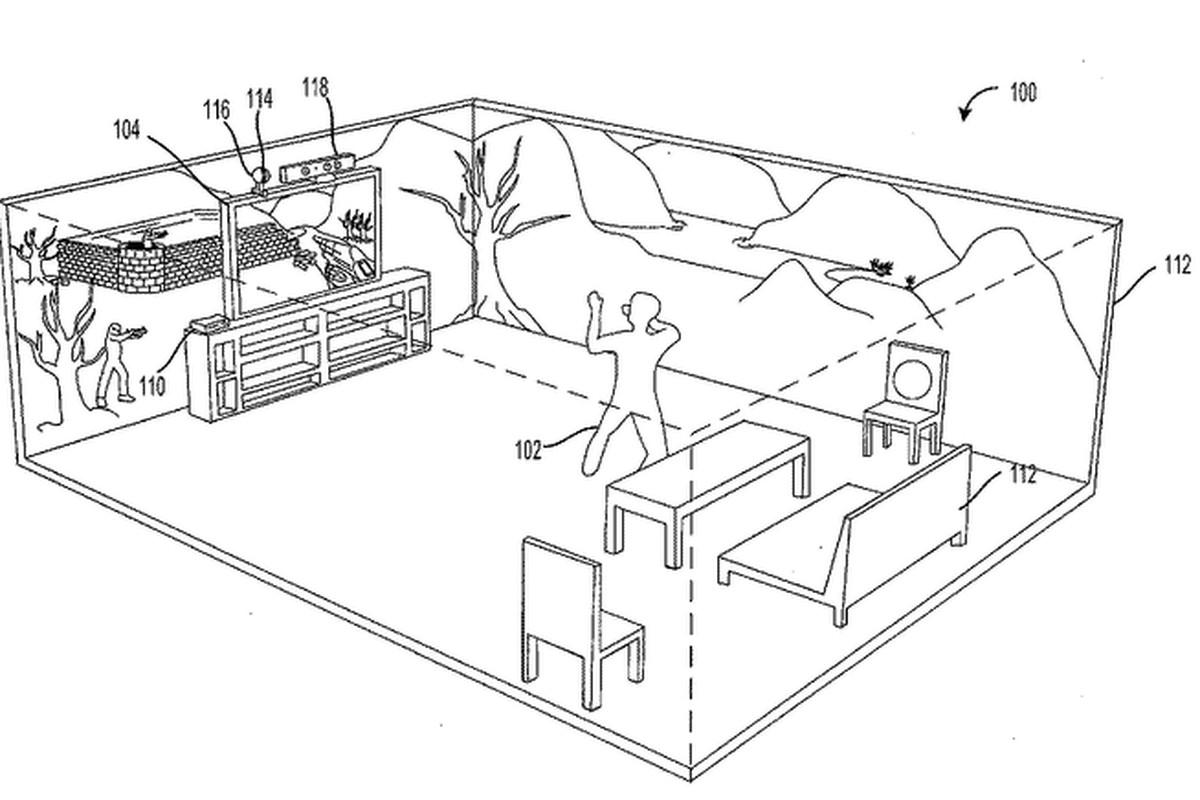 Microsoft Patents Holodeck Like Immersive Display