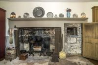 4 Colonial homes with cooking fireplaces for sale right ...