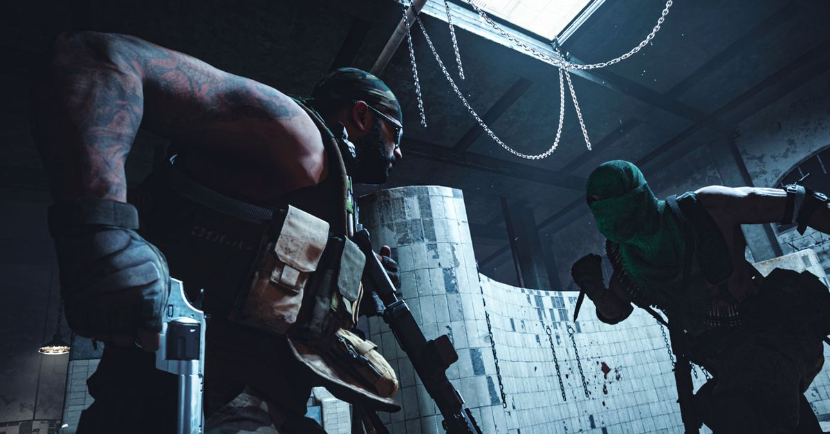 Call of Duty: The Gulag system from Warzone gets goofy with stones
