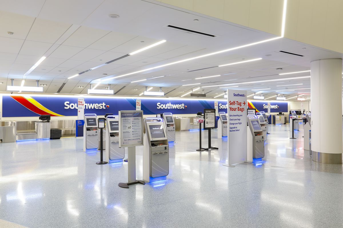 Southwest check-in at LAX