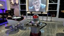 Behold Space-themed Robot-staffed Hotel In China - Eater