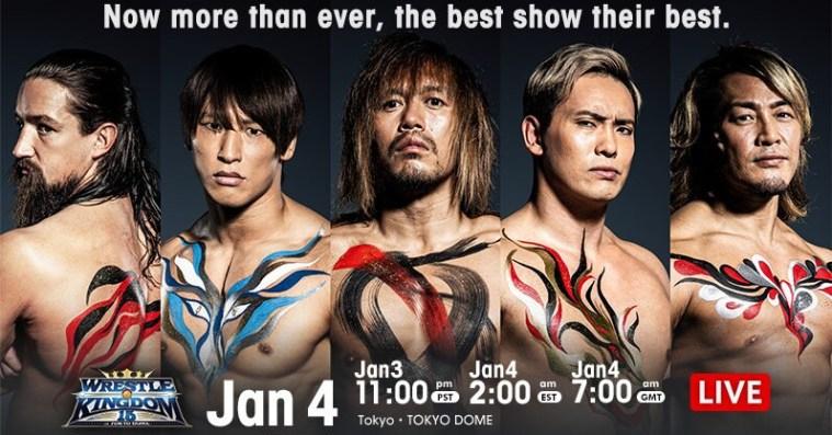 Wrestle Kingdom 15 night one results: Naito vs. Ibushi