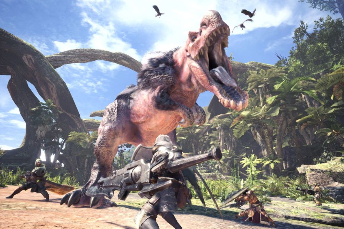 Monster Hunter World is already a huge hit - The Verge