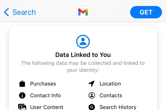 IMG_0879.0 Google has finally added iOS's privacy labels to Gmail | The Verge