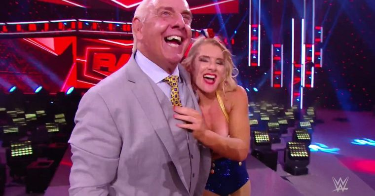 Andrade teases Charlotte team-up after Ric Flair/Lacey Evans align