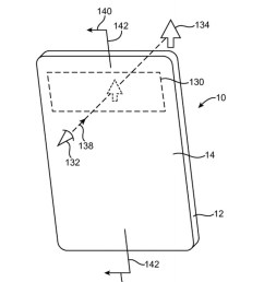 apple s rumored bezel less iphone could be made possible with an oled screen full of holes according to a patent granted today  [ 1200 x 800 Pixel ]