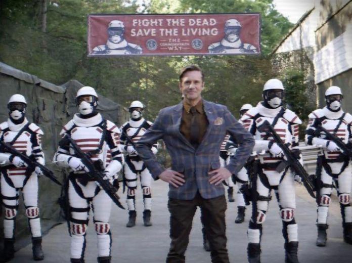 Josh Hamilton as Lance Hornsby in Walking Dead season 11