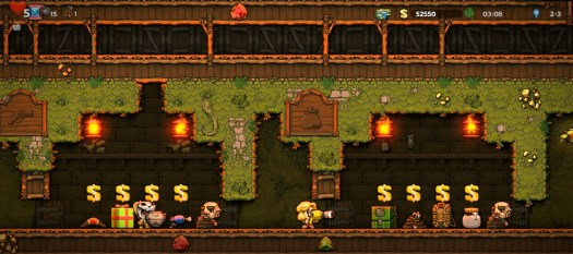 Showing off the Black Market in Spelunky 2