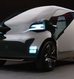 honda unveils first electric ride sharing concept car [ 1200 x 800 Pixel ]