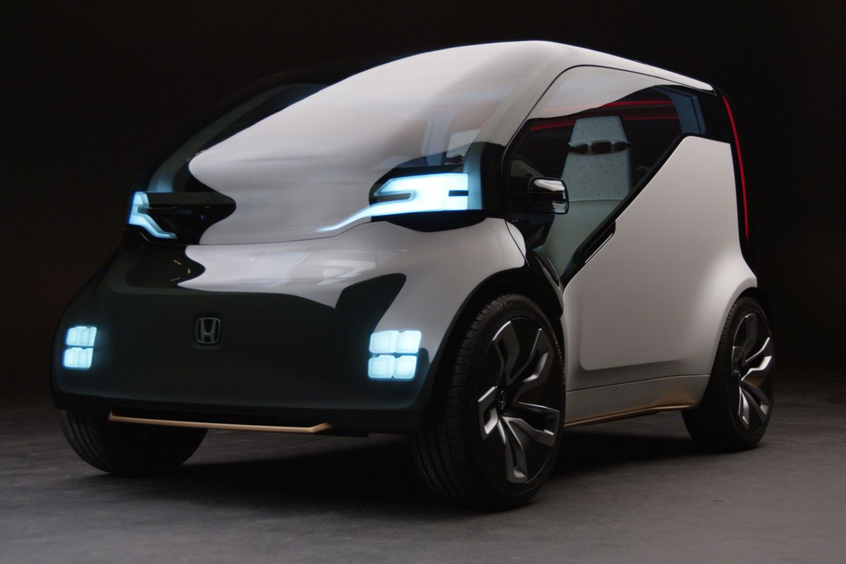 hight resolution of honda unveils first electric ride sharing concept car