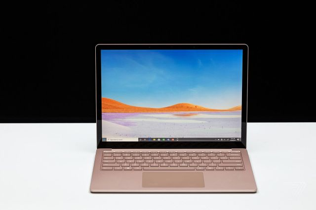 Best Laptops 2020: Microsoft Surface Laptop 3