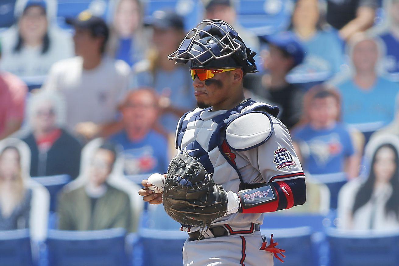 MLB: MAY 02 Braves at Blue Jays