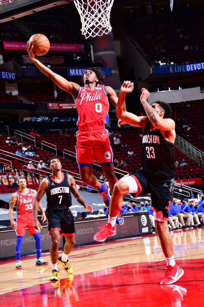 Philadelphie 76ers v Houston Rockets