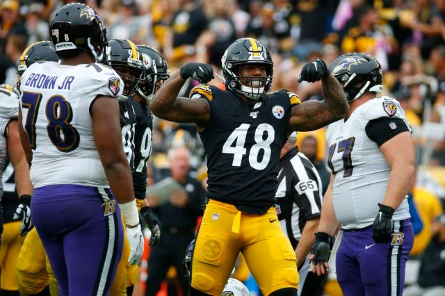 A win Sunday gives the Steelers a stranglehold on the AFC North - Behind  the Steel Curtain