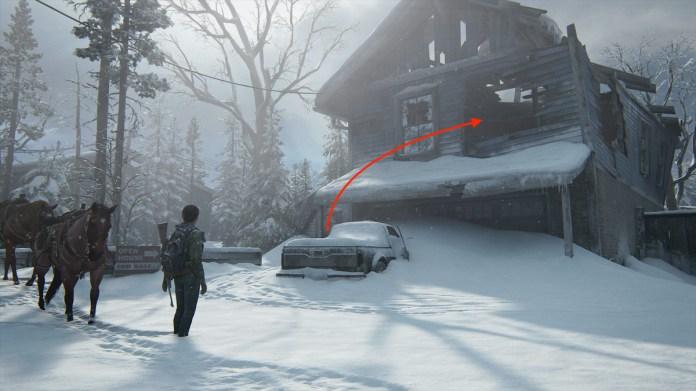 The Last of Us Part 2 Jackson patrulla tarjeta coleccionable y guía coleccionable de artefactos