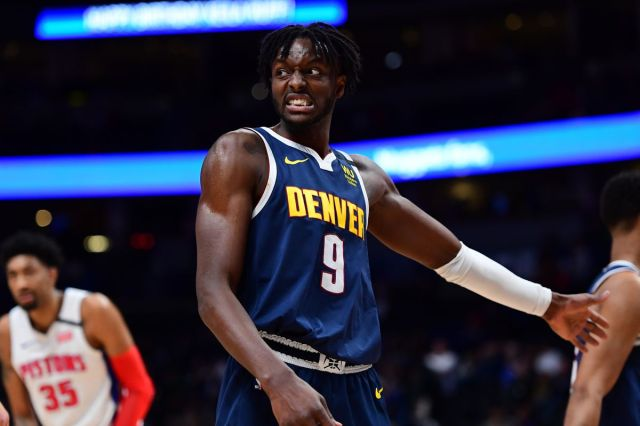 NBA: Detroit Pistons at Denver Nuggets