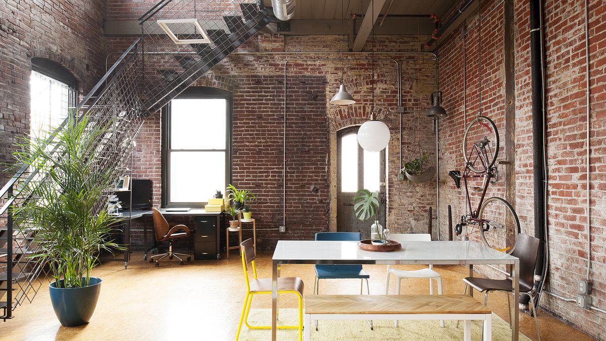 Inside a modern industrial loft in Kensingtons Milk Depot