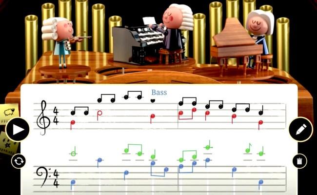 Ai Powered Google Doodle Celebrates Johann Sebastian Bach