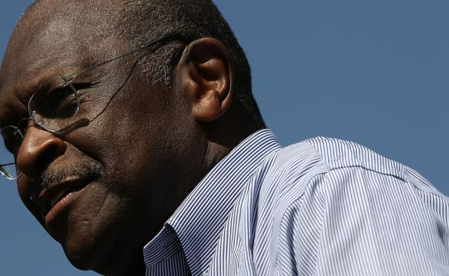 Report Herman Cain Says He Doesn T Plan To Withdraw From