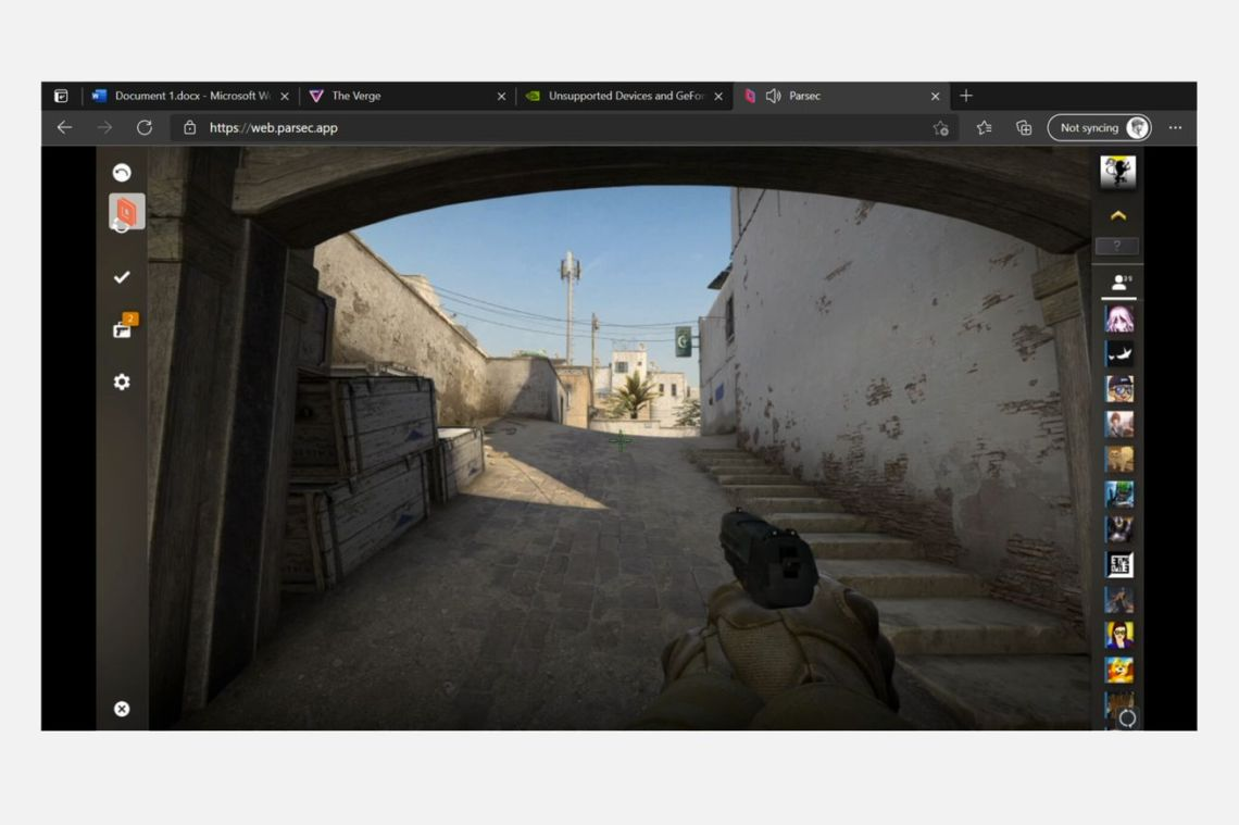 A first look at playing Steam PC games on Xbox with mouse and keyboard
