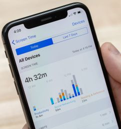 how to use apple s new screen time and app limits features in ios 12 [ 1200 x 800 Pixel ]