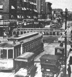 cleveland s electric traffic signal system installed on august 5 1914  [ 1200 x 800 Pixel ]