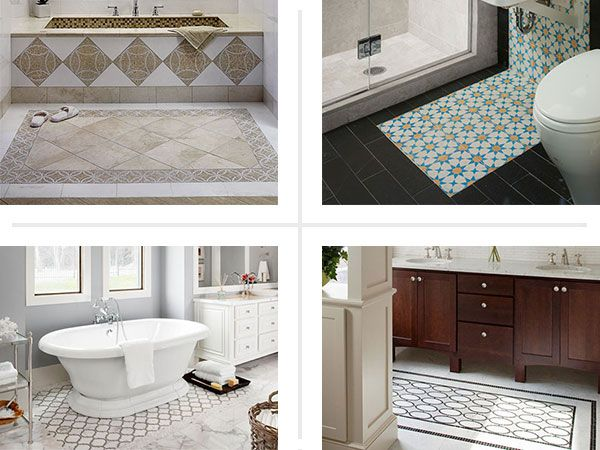 6 design ideas for tile rugs this old